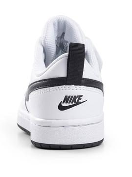 Zapatilla Nike Borough Blanco/Negro