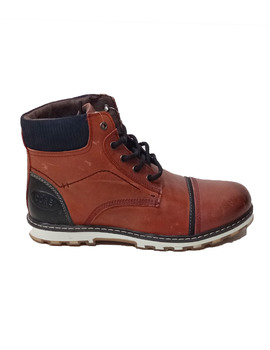 Thumb bota paredes casual wear burdeos core para hombre  3