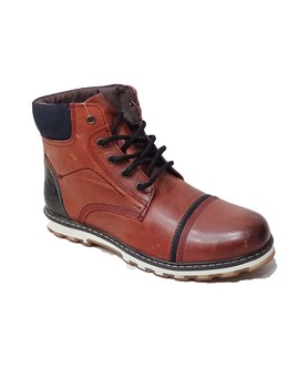 Bota Paredes casual wear burdeos core para hombre