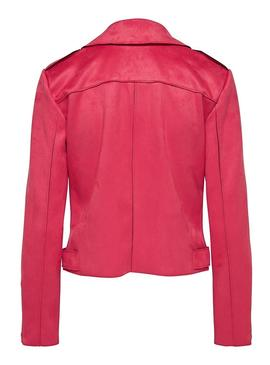 Chaqueta Only Sherry Bonded Rosa para Mujer