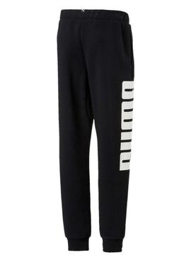 Pantalon Puma Rebel Sweat Negro Niño