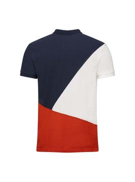 Polo Jott Cherbourg Color Block para Hombre