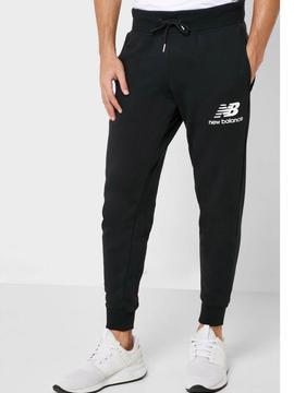 Pantalon New Balance Negro Hombre