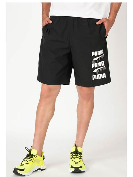 Pantalon Corto Puma Woven Negro Hombre